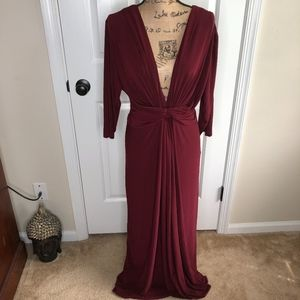 07aa0aaada Love Squared Draped Maxi Dress NEW!